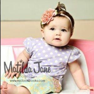 Matilda Jane Girls Blue Bell Tee.     NWT